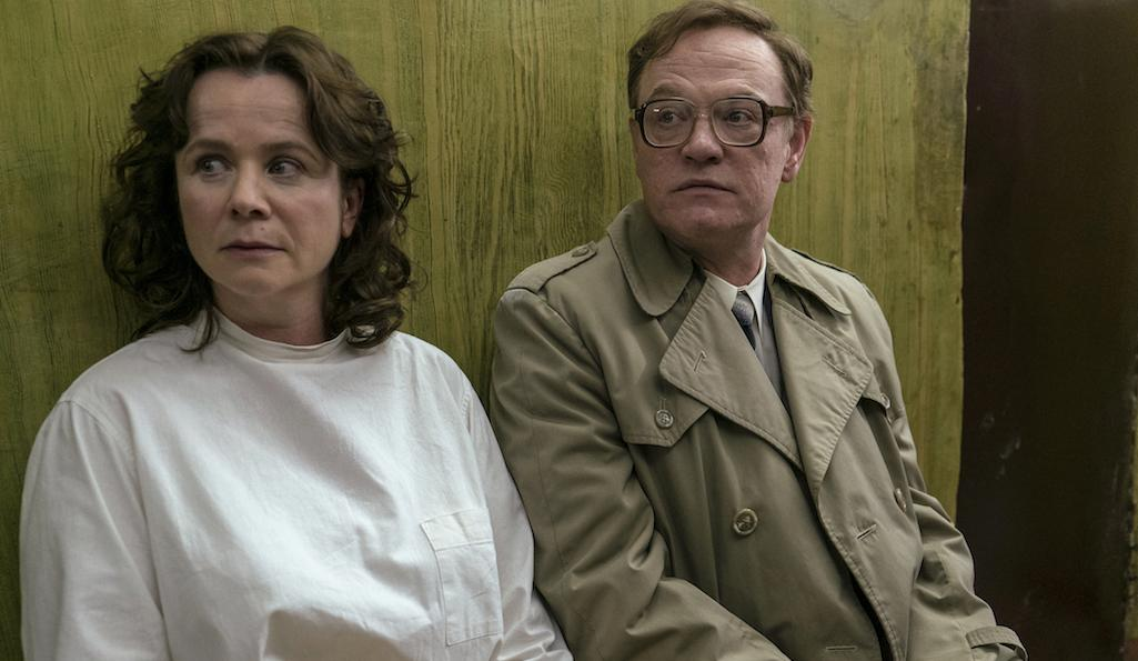 Emily Watson and Jared Harris in Chernobyl, Sky Atlantic