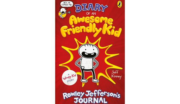 Diary of an Awesome Friendly Kid: Rowley Jefferson's Journal, by Jeff Kinney