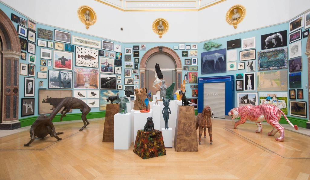 Installation view of the Summer Exhibition 2019 (10 June – 12 August) at the Royal Academy of Arts, London. Photo: © Royal Academy of Arts / David Parry