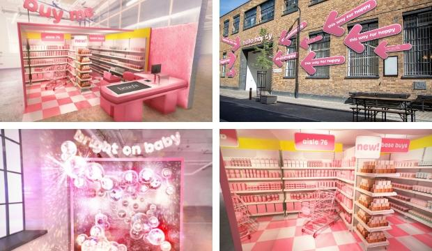 ​Get happy with Benefit's fun and free pop-up