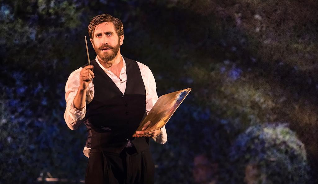 Jake Gyllenhaal in Sunday in the Park with George. Photo by Matthew Murphy