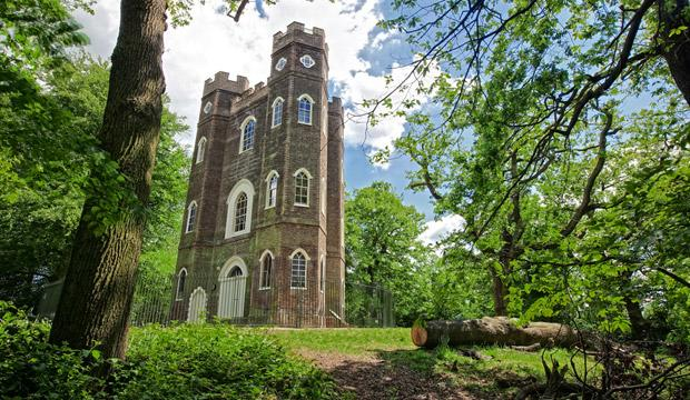 Best for the views: Severndroog Castle, Southeast London