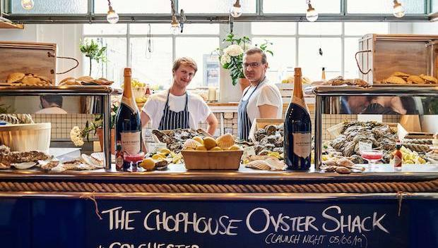 The pop-up oyster shack: Butler's Wharf Oysterhouse