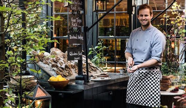 The native stall: Chiltern Firehouse