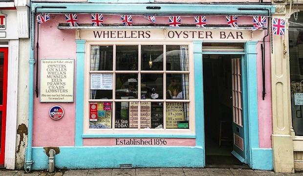 The original: Wheelers of Whitstable