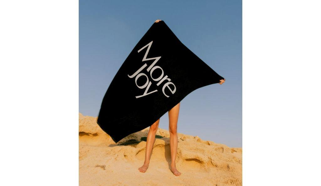 Beach towel £90, Christopher Kane
