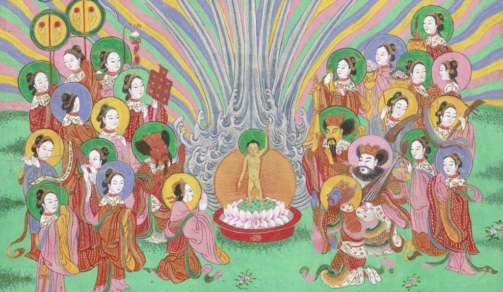 The Life of Buddha (c) British Library Board