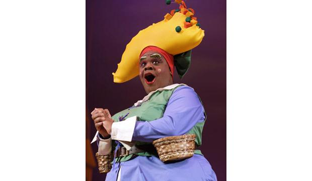 Clive Rowe is back in Hackney Empire's panto this Christmas. Photo: Robert Workman