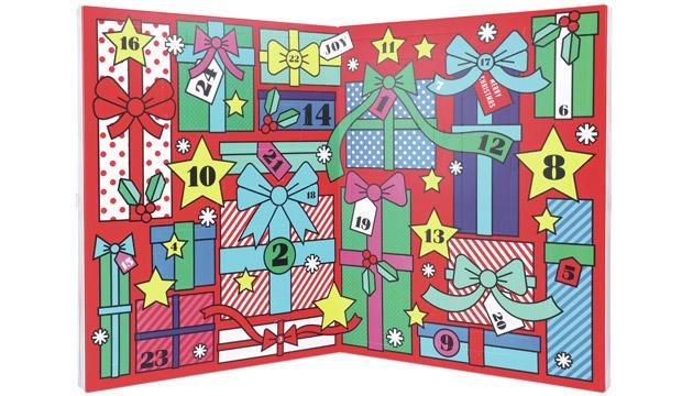 For the crafts-obsessed kid: Paperchase Advent Calendar, £35