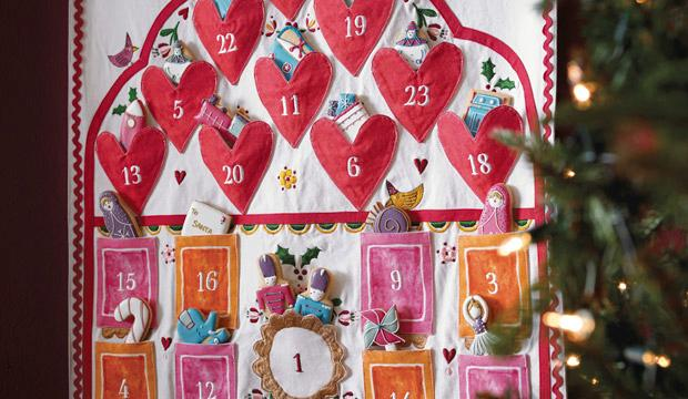 For the biscuit fiend: Biscuiteers x Sophie Conran advent calendar and biscuit tin, £175