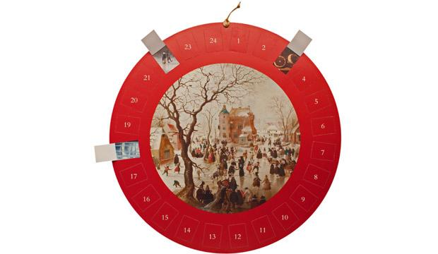 For the art lover: National Gallery Circular Avercamp Advent Calendar, £7.50