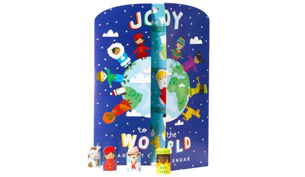 For the ethically minded kid: Joy To The World Oxfam Advent Calendar, £4.99