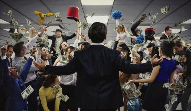 Live the high life here: The Wolf of Wall Street immersive experience