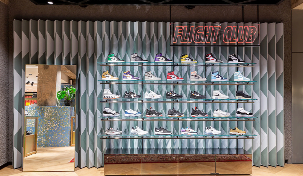 Flight Club Pop-Up at FLANNELS LONDON