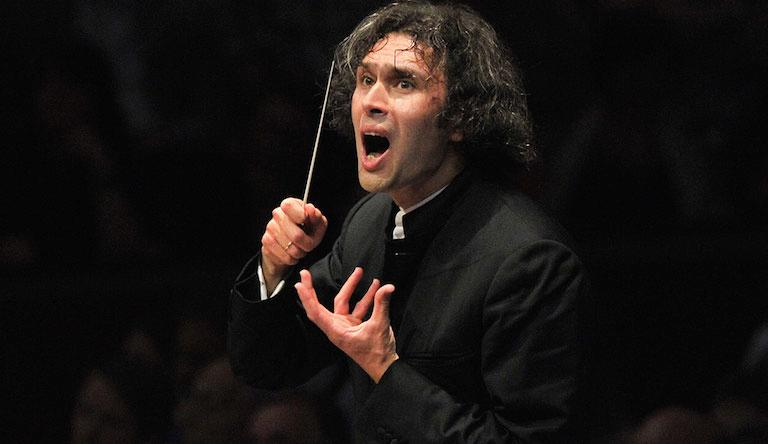 Russian-born Vladimir Jurowski conducts the London Philharmonic Orchestra. Photo: Chris Christodoulou