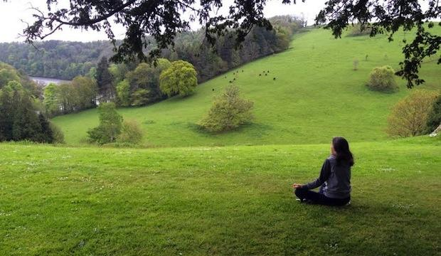 Practice mindfulness and yoga at the Sharpham Trust