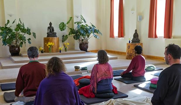 Hone your meditation skills at Gaia House