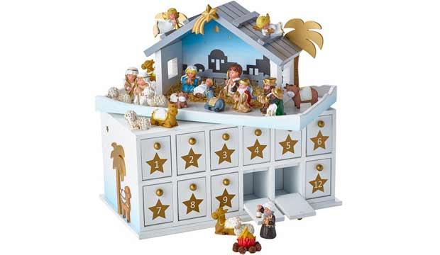 For the traditionalist: Lakeland Bethlehem Advent Stable, £69.99