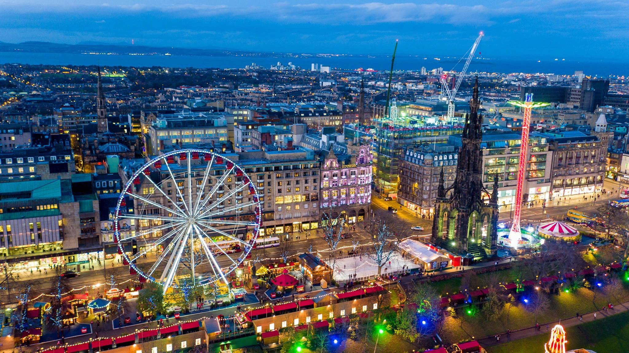 Silent Light: Edinburgh's brand new Christmas party