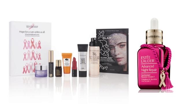 ​1. Estee Lauder Limited-Edition Advanced Night Repair with Pink Ribbon Keychain, £78, and Breast Cancer Campaign Beauty Box, £25