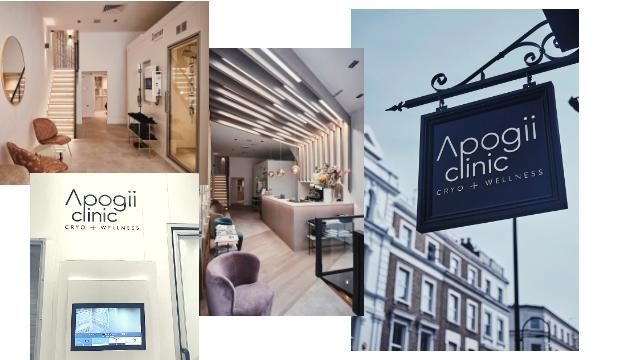 Testing out Cryotherapy: Apogii Clinic in Notting Hill, from £80