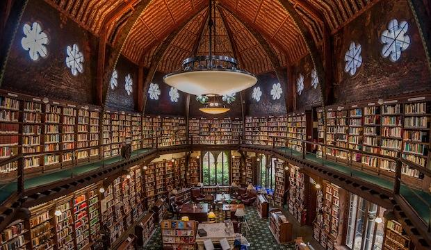 The Bodleian Library in Oxford, UK