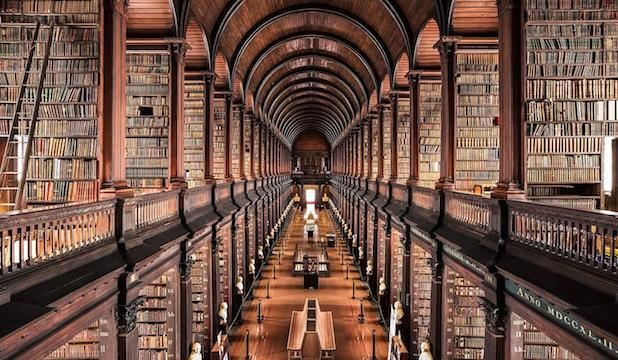 The Old Library at Trinity College Dublin, Ireland