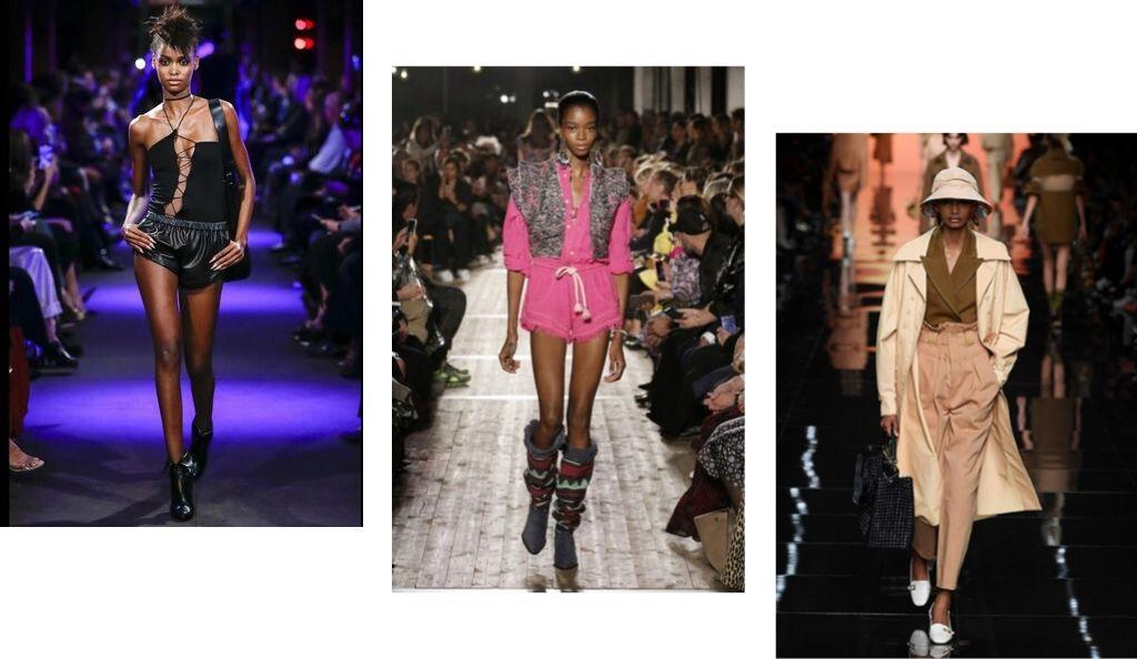 S/S20 fashion trends: Tom Ford; Isabel Marant; Fendi