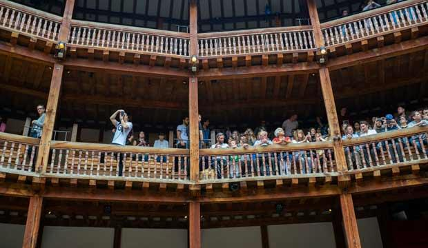 Half-term tales at the Globe
