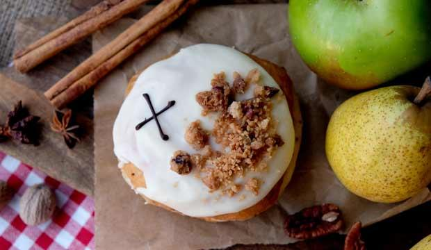 Best doughnut: Crosstown Doughnuts' Winter Fruit Crumble