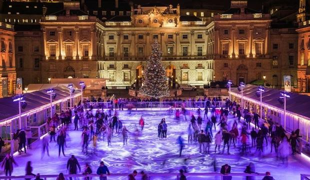 Glistening ice rinks to glide across this winter