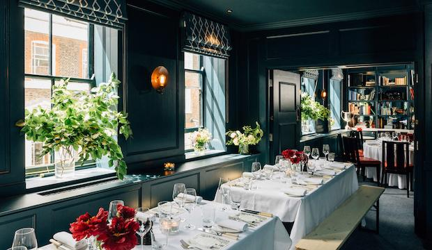 Soho bohmeian: The Blue Room at Quo Vadis