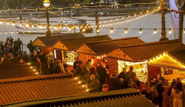 Browse an exquisite winter market