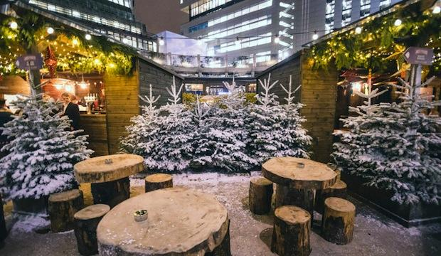 Winter Forest, Broadgate Circle