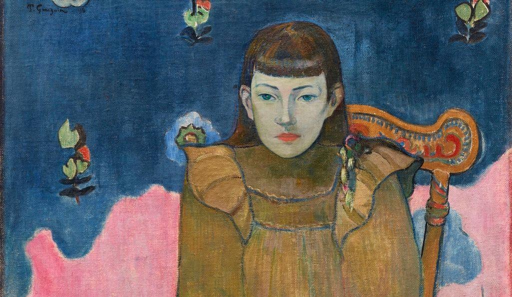 Paul Paul Gauguin, Portrait of a Young Woman, Vaïte (Jeanne) Goupil, (1896)
