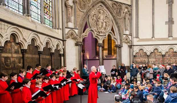 Take the kids to Christmas Family Day at Westminster Abbey