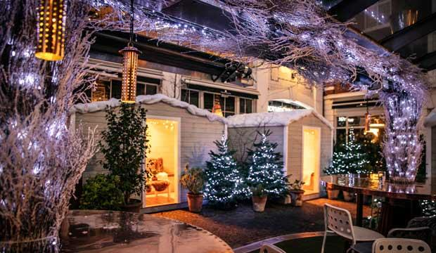 Escape to a winter wonderland on the Kings Road