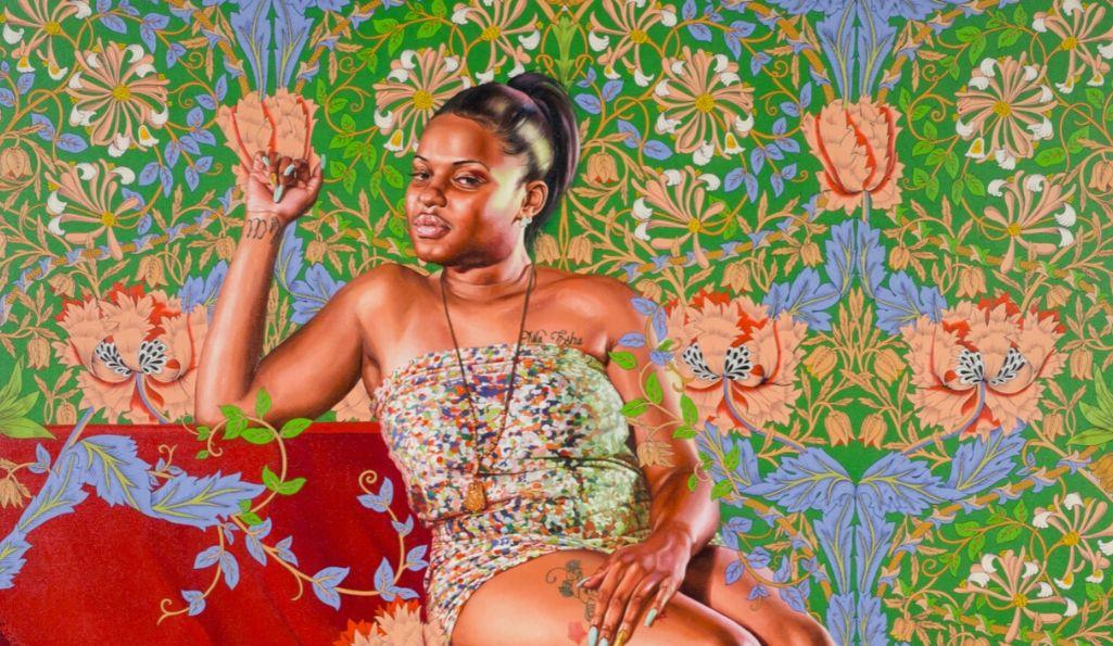 Kehinde Wiley: The Yellow Wallpaper, William Morris Gallery