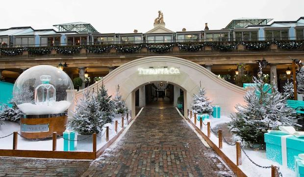 Tiffany & Co. ice rink, Covent Garden