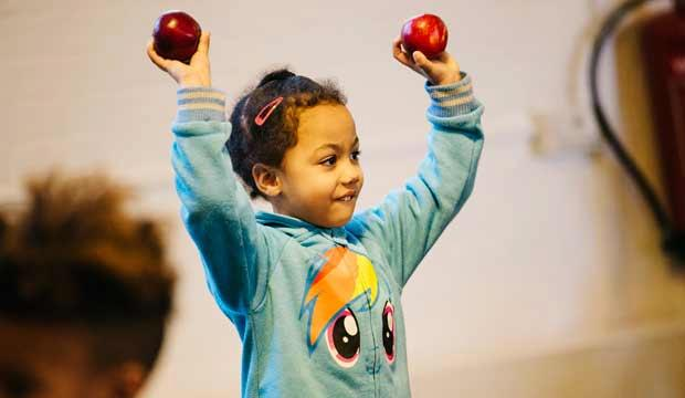 Encourage future thesps at Polka Theatre's half-term workshops