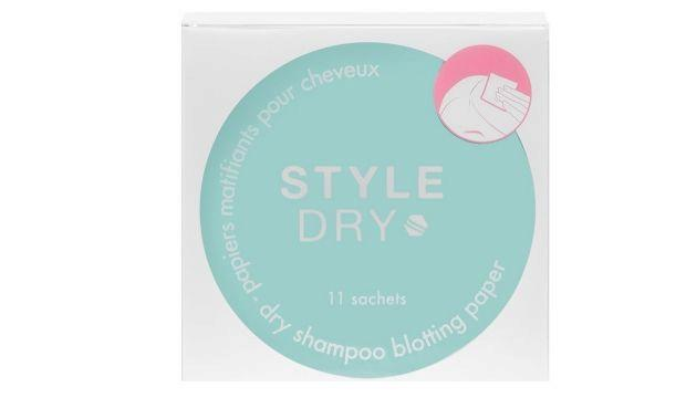 ​Style Dry Dry Shampoo Blotting Paper £9.95