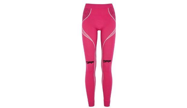 ​Off-White Active fuchsia stretch-jersey leggings £200