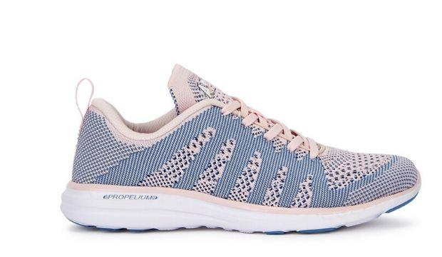 ​Athletic Propulsion Labs Techloom Pro blush knitted sneakers £115