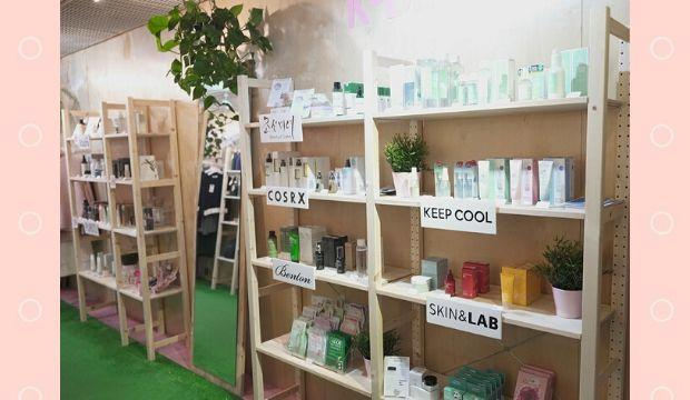 ​K-Beauty pop-up shop in Boxpark Shoreditch ​