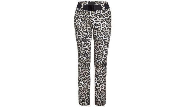 2 Goldbergh Roar leopard print shell ski trousers