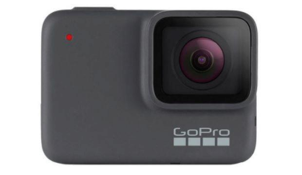 5 Gopro Hero7 silver action cam