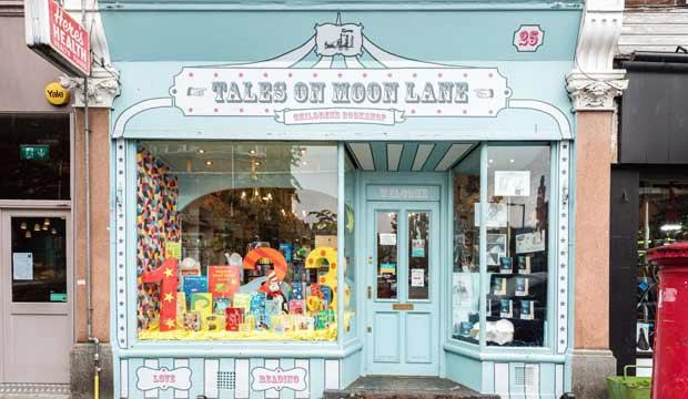 London's children's bookshops are amazing spaces to lose yourself in. Photo: Tales on Moon Lane