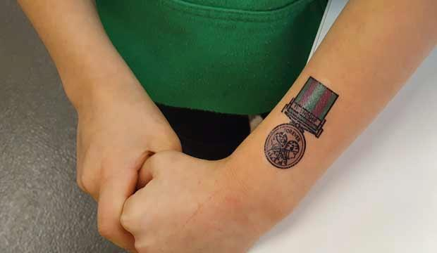 Learn how tattoos can tell a story at the National Army Museum