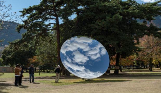Anish Kapoor, Houghton Hall, Norfolk