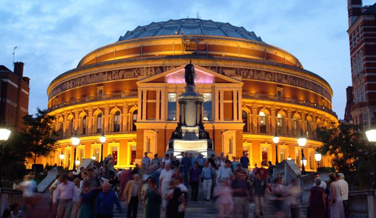 The Royal Albert Hall is the home of most BBC Proms